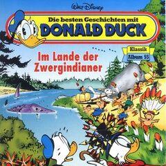 Couverture du<i> Die besten Geschichten mit Donald Duck - Klassik Album</i> n<sup class=