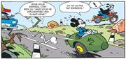 Accident de side-car pour Mickey et Dingo