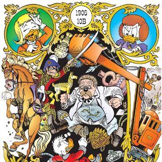 Illustration de Don Rosa, intitulée <i>Les inédits de Don Rosa 33</i>.