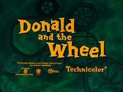 Title card Donald et la roue