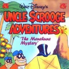 Couverture du <i>comic book Uncle Scrooge Adventures</i> n<sup class=