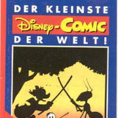 Couverture de <i>Der Kleinste der Welt</i> (Allemagne), illustrant cette histoire.