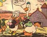 Grand-Mère Donald et Gus par Frank McSavage