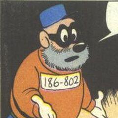Gracié dessiné par Carl Barks dans sa deuxième apparition, en 1958 dans <i><a href=