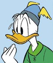 Sosie de Donald par Miguel Fernandez Martinez