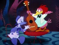 Donald Duck et l'Arcuan C'est la faute de la samba