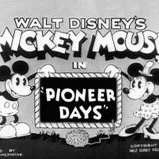 Le <i>title card</i> de <i>Pioneer Days</i>.