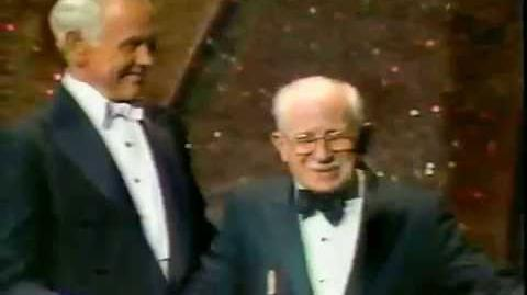 "Donald Duck 50th "" Birthday"" Tribute Oscars 1984 with Clarence Nash"
