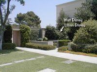Pierres tombales Walt et Lillian Disney