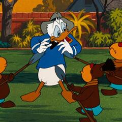 Donald entouré par les <a href=