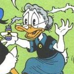 Miss Frappe dessinée par Don Rosa dans <i><a href=