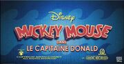 Title card Le capitaine Donald