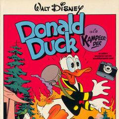 Couverture de la revue néerlandaise <i>De beste verhalen van Donald Duck</i> n°7 illustrant l'histoire et réalisée par <a href=