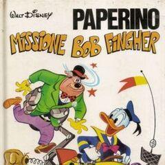 Couverture du magazine Italien Collana intrepida n° 4 publié en Août 1968.