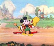 Mickey dans Parade des nommés aux Oscars