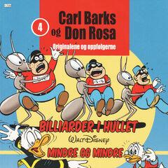 Couverture de la revue norvégienne <i>Carl Barks og Don Rosa</i> n°4 reprenant une case de l'histoire de <a href=