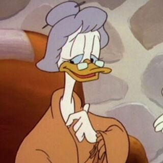 Edith dans <i>La Bande à Picsou</i>.