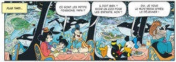 Donald gère le restaurant de l'hôtel sous-marin
