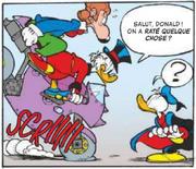 Picsou et Baptiste rejoignent Donald en Fantomiald