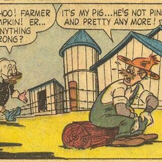 Deuxième apparition du personnage, encore sous l'apparence d'un chien.