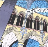 Cathédrale Notre-Duck Colonnes