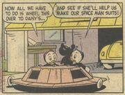 Donald et la soucoupe volante! - extrait 4