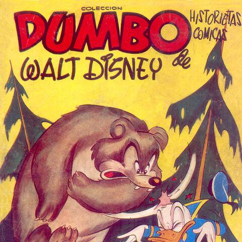 Couverture du magazine <i>Dumbo Walt Disney</i> illustrant cette histoire.