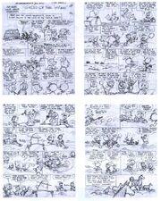 Le trésor des Castors Storyboard