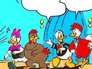 Tétroc Lecoq, Clara Cluck, Donald et Daisy Duck