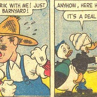 Première apparition du personnage, sous l'apparence d'un chien.