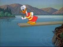 Donald Duck La Roulotte de Donald