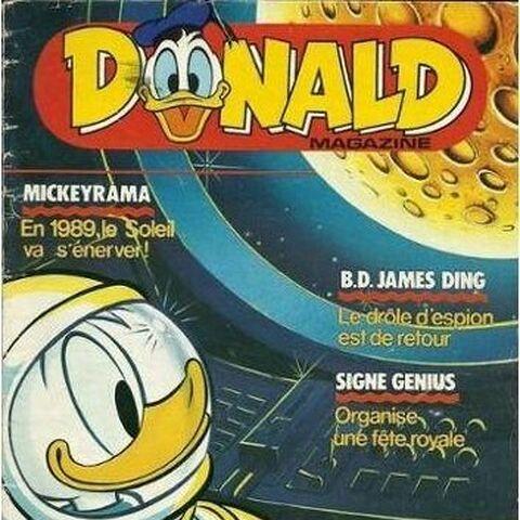 Couverture du <i>Donald Magazine</i> 89-01