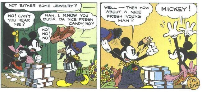 Mickey agent secret 14