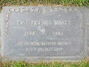 Edna Disney tombe