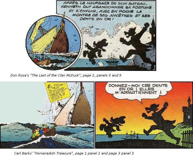 Inspiration de Don Rosa Le Dernier du clan McPicsou