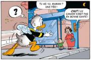 Un enfant prend Donald se transformant en mouche pour une fée