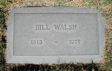Bill Walsh tombe