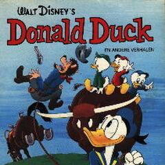 Couverture de la revue néérlandaise <i>Donald Duck en andere verhalen</i> n<sup class=