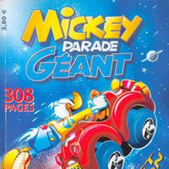 Couverture de <i>Mickey Parade Géant</i> n°267.