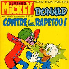 Onzième numéro du <i>Mickey Parade</i> bis paru le 9 mars 1969, qui porte le numéro 873.