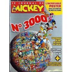 La couverture du 3000e numéro.