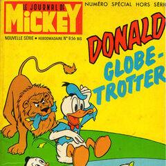 Dixième numéro du <i>Mickey Parade</i> bis paru le 10 novembre 1968, qui porte le numéro 856.