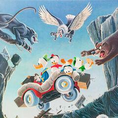 Cette peinture à l'huile de Barks, datée de 1972 et intitulée <i><a href=