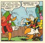 Donald et Popop par Alessandro Barbucci