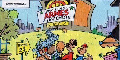 Exposition sur Fantomiald