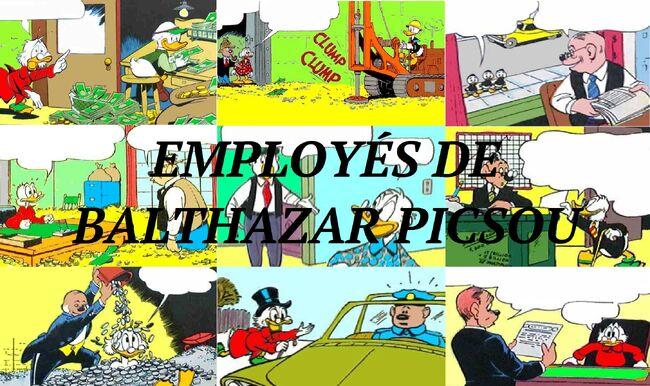 Employés de Balthazar Picsou
