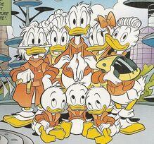 Famille Duck futur
