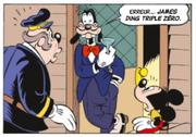 Dingo arbore le premier déguisement de James Ding