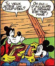 Dingo et Mickey par Sergio Asteriti