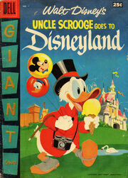 Uncle Scrooge Goes to Disneyland nº1
